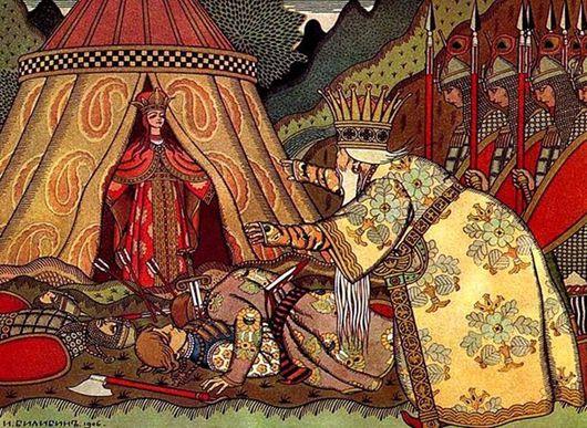Кадры из фильма смотреть каша из топора русская народная сказка